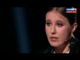 Вечер с Владимиром Соловьевым. Ксения Собчак на канале
