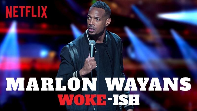 StandUp - Марлон Уайанс - Типа в теме (2018) Marlon Wayans - Woke-ish 1080p L1