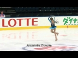 Figure Skating Ten Russian Winged Fairies Both Arms Up F &amp Lz Triple Jumps Combinations