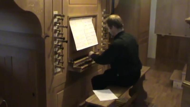 Nikolaus Bruhns Praeludium e moll das große Francis Jacob organ