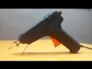 Импульсный паяльник с моментальным нагревом из эконом лампы и клеевого пистолета