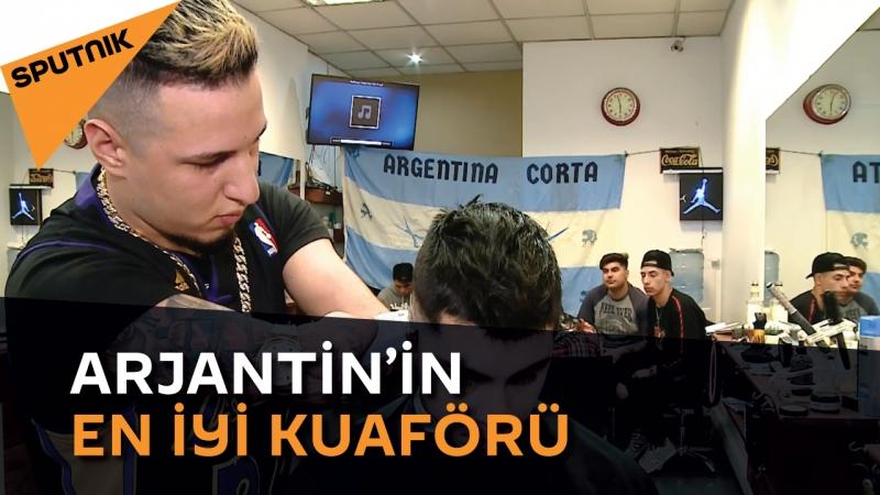Kolsuz dünyaya geldi, Arjantin'in en iyi kuaförü seçildi
