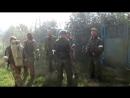 Ополченцы и добровольцы из России на передовой