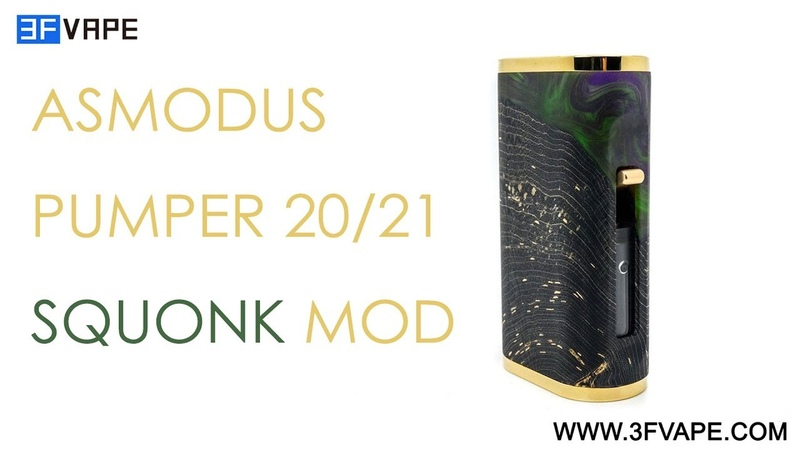 Asmodus Pumper 20/21 squonk mod
