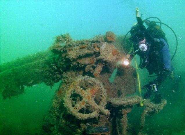 Wreck Крым. Дайвинг в Евпатории 7