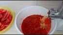 Соус без варки из перца и чеснока