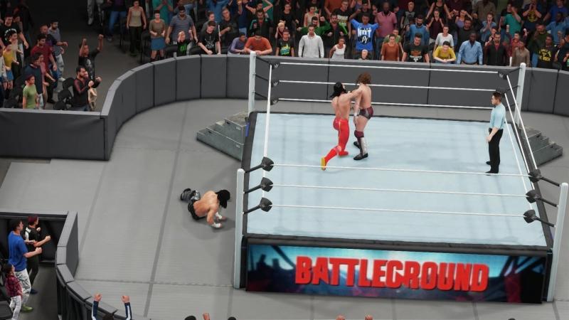 Matt Hardy vs Seth Rollins vs Daniel Brayn