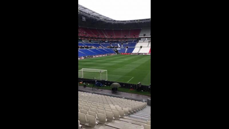 Лионский стадион готов к финалу ЛЕ