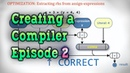 Optimizing Trees — How to Create a Compiler part 2/5 — Simple optimizations to a program in an AST