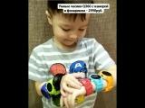 Детские умные часы Q360 с фонариком, камерой и Wi-Fi модулем