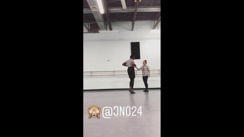 Instagram 647 - DWTS 26 - Репетиции