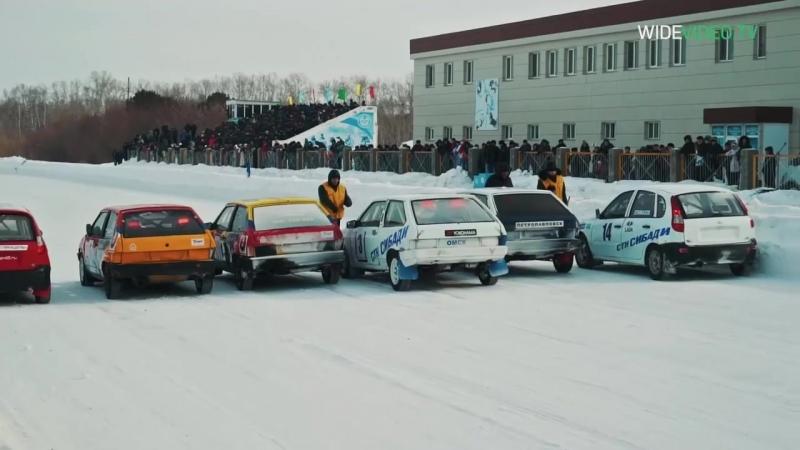 Гонки зимние на ипподроме Бишкуль 2016