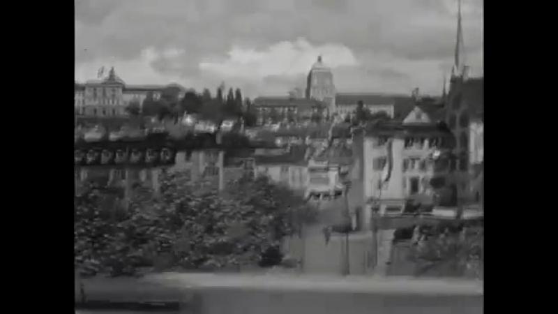 Trolleybus in der Stadt Zürich 1939