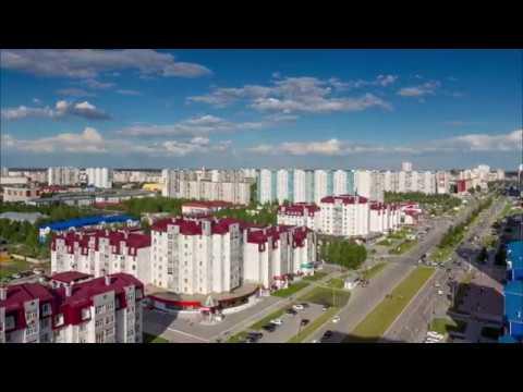 Нижневартовск, перекресток Ленина-Нефтяников, 22.06.2018, таймлапс