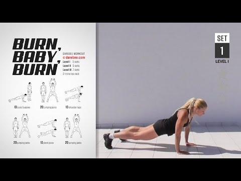 Burn, Baby, Burn Workout [ FULL ] [ HIGH BURN ] [ 25 MIN ]