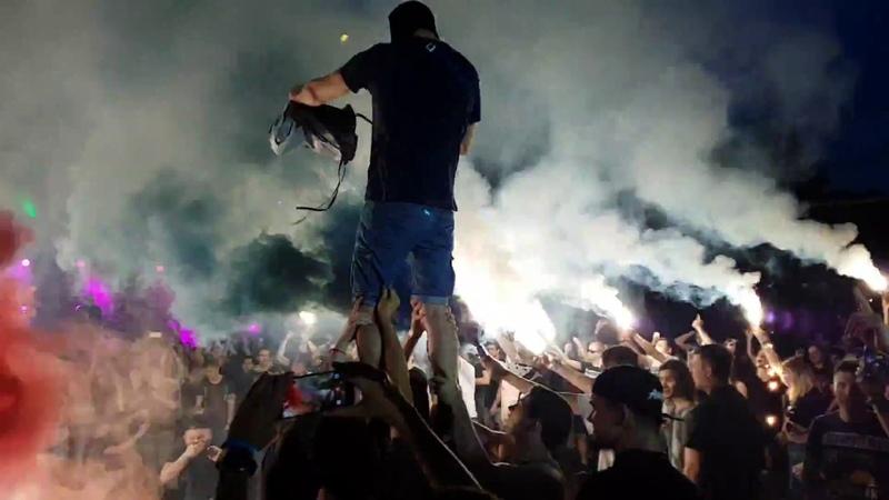 Anacondaz Семь миллиардов Привет Гитлер live in Парк Красная Пресня 26 07 2018