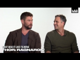 Chris Hemsworth, Mark Ruffalo and Jeff Goldblum Talk Pints and Being Heroes