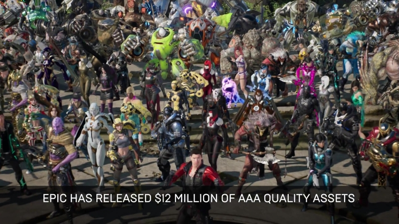 $12,000,000 in Paragon Assets Released for Free! ¦ Unreal Engine