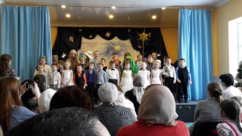 Праздник в ВШ.Рождество