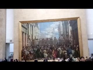 Лувр мона Лиза