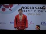 Сергей Кирюхин - двукратный чемпион мира по самбо!!