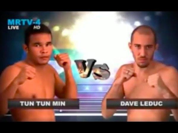 Dave Leduc Vs Tun Tun Min - Rematch