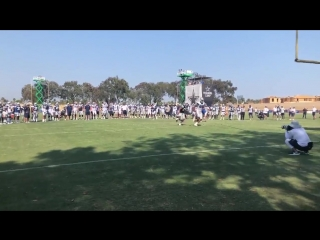 Jameill Showers vs Rico Gathers #CowboysCamp Day 7
