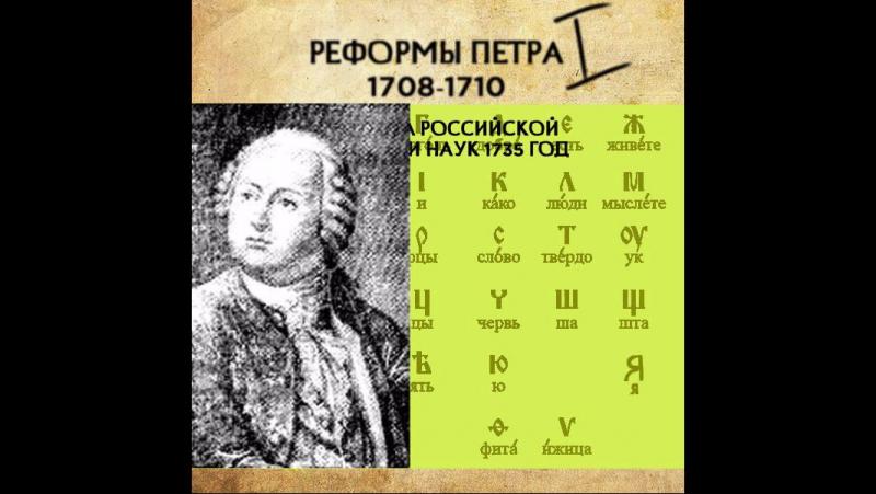 3. История русского алфавита