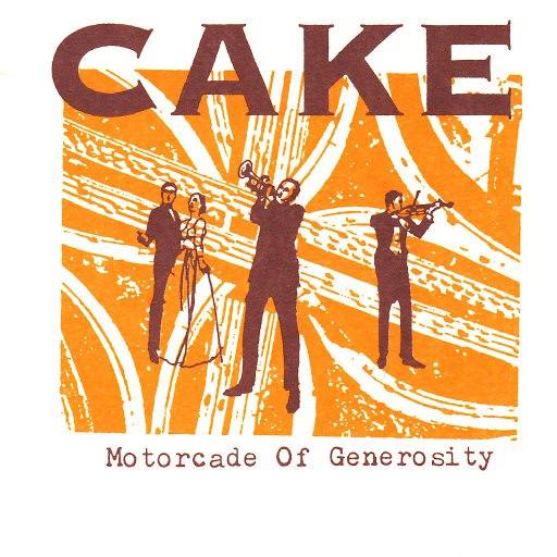 Cake альбом Motorcade of Generosity