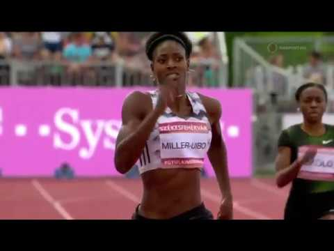 SHAUNAE MILLER-UIBO RUNS AWAY FROM PHYLLIS FRANCIS IN WOMENS 400M AT GYULAI ISTVAN MEMORIAL 2018