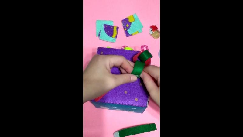 Развивающий кубик для малышей(шнуровка, тактильное восприятие, мазайка)