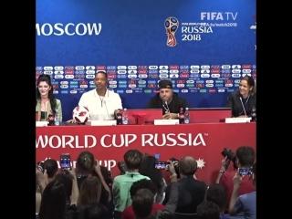 Шоу Уилла Смита на пресс конференции в Москве