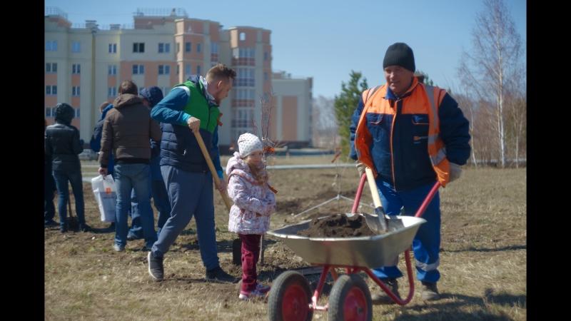 Лес Победы в мкр. Белый хутор. 05.05.2018 Челябинск