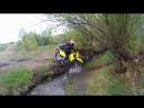 Эндурим вдоль реки Уда до кроссовой трассы