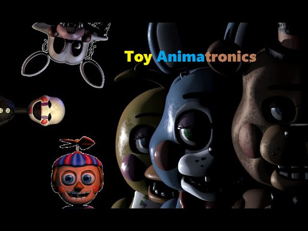 Five Nights at Freddy's 2 - Toy Animatronic Paths
