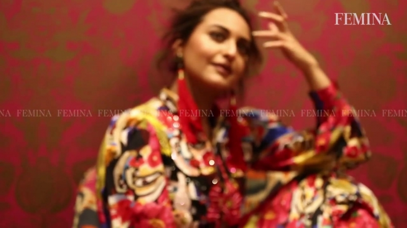 Sonakshi Sinha Femina Cover Photoshoot _ Sonakshi Sinha Behind the Scenes Photos