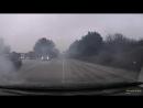 Разнос двигателя автобуса Севастополь. Утро 19 марта. Подъем от Инкермана. Поворот в сторону ул.Жидилова.