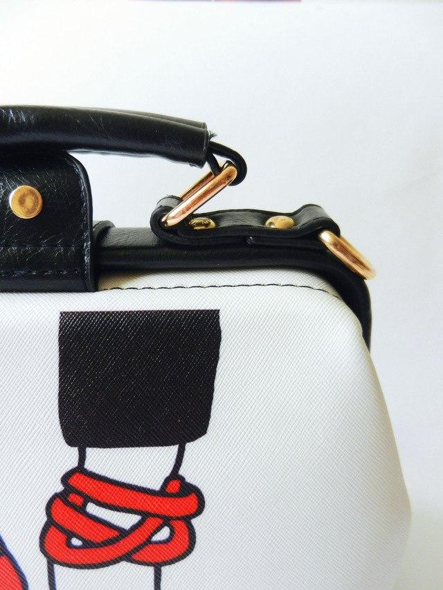 Винтажная сумочка doctor bag заказанная в двух расцветках