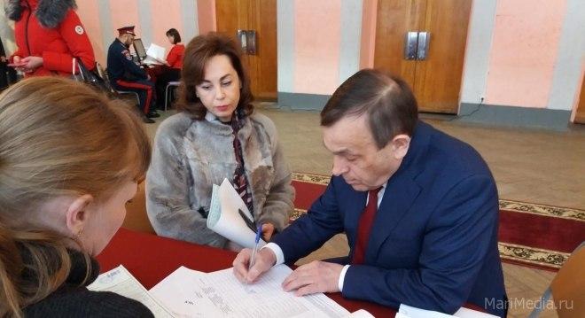 Глава Марий Эл призвал жителей республики прийти на избирательные участки