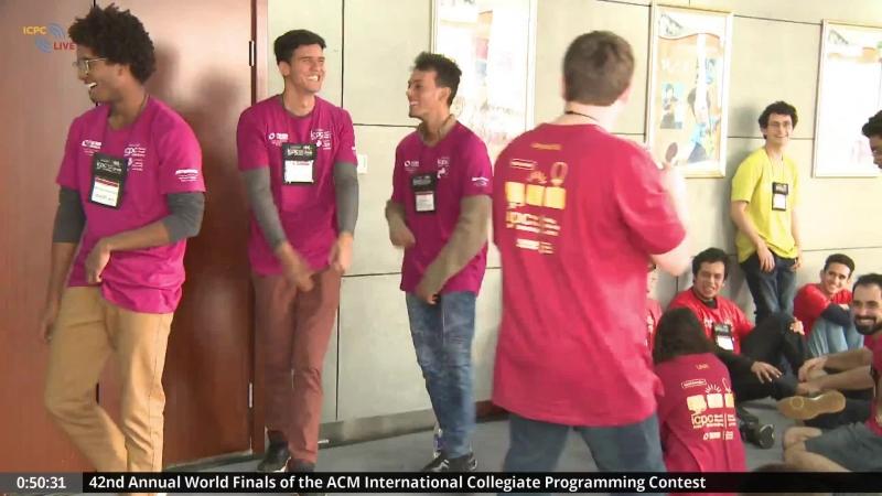 ICPC 2018 World Finals, русская трансляция