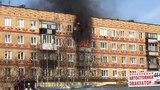 В Печоре горит пятиэтажный жилой дом