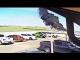 В городе Ларедо разбился двухмоторный самолёт
