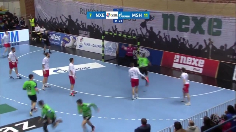Man of the match Ivan Pesic Nexe vs Meshkov Brest