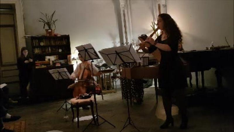 5) концерт 3 дек2017 .Daniel Purcell . Sonata F-dur for alto recorder and basso continuo