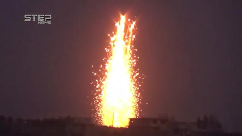 Сирия 19.12.17: Огненный ад. ВКС РФ сжигают боевиков «Аль-Каиды» в Идлибе и Хаме!