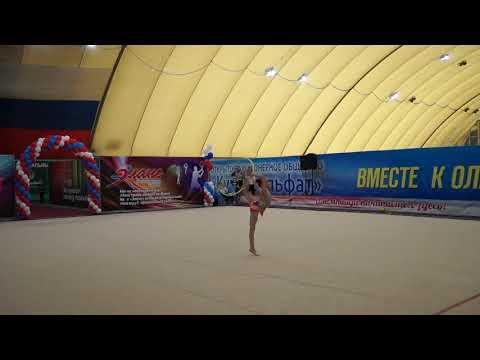 Рыжкова София 2008г.р. соревнование 04-06.05.2018