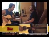 Колхозный панк - СЕКТОР ГАЗА _ Как играть на гитаре (2 партии) Аккорды, табы - Г