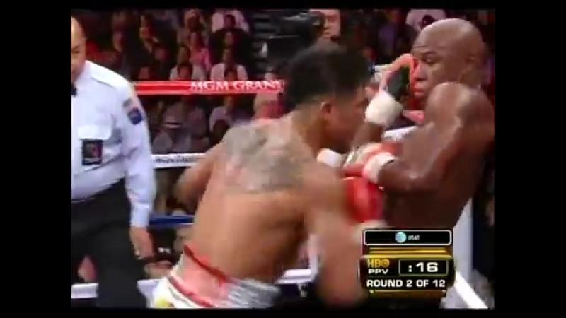 Floyd Mayweather Jr vs Victor Ortiz Mayweathers Last Knockout