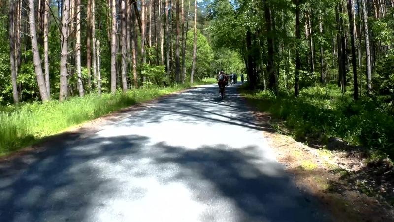 Велозаезд Осиново 2018 Новички и Лентяи