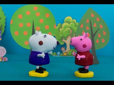 ОГО Пеппа и Сьюзи ВЗРОСЛЫЕ Свинка Пеппа и Сьюзи подруги на все времена